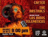 Collage para Live From Valhalla. Bogotá 2017.