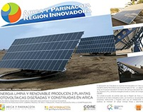 Diseño Imagen Arica y Parinacota Región Innovadora