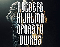 Futuristic, Military, Industrial Style Typeface