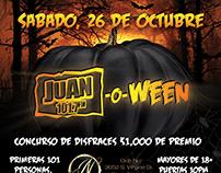 Juan-o-Ween Event Branding and Logo