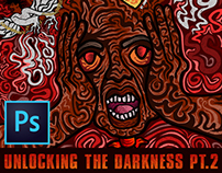 UNLOCKING THE DARKNESS PT.2 PROCESS VIDEO