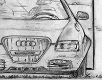 """Audi/Innie"" (spec commercial) storyboards"