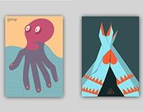 Poster experiments: Hands / Gestures