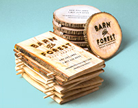 Reclaimed Wooden Business Cards