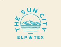 The Sun City Full Badge
