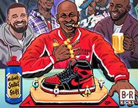 MJ's Birthday party (Jordan Brand stars)