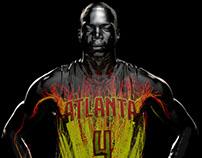 "Atlanta Hawks ""Vision"" Court projection 2016-17"
