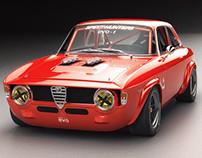 Alfa Romeo Giulia GTA Ariandesign EVO-1 Studio shoots