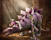 A Girl's Dinosaur