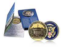 White House Coin and Card Design