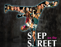 Step on the Street - logo, web, brochure