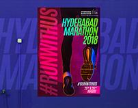 Posters Set 2, Hyderabad Marathon