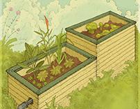 Ilustraciónes para suplemento de siembra