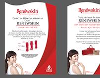 RENEWSKIN Desk Flyer