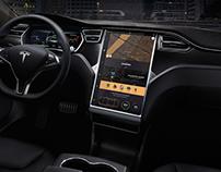Tesla interface