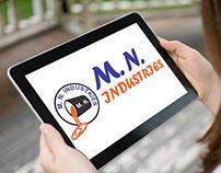 M. N. Industries Logo Design