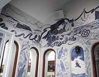 Blue Haven | Kinsale | Mural