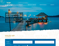 Website Air VIP