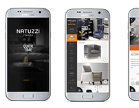 NATUZZI ITALIA mobile app design and programming