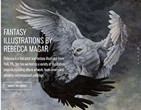 Wailing Wizard - Personal Art Portfolio Site