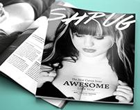 SHRUG - Editorial Design