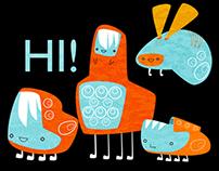The happy robots gang