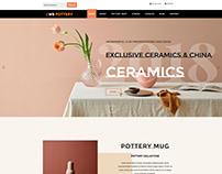 WS Pottery – Responsive Furniture Wordpress theme