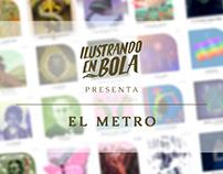Ilustrando en Bola: El Metro
