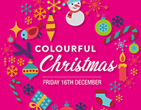 Brother UK Colourful Christmas Promo Poster