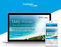 JetBlue email promotion concepts
