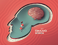 Waiting for Godot / Čekajuci Godoa - Poster design