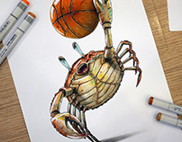 Crab Dunk (Dunk or die)