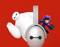 Big Hero 6 Headphones