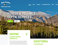 Bear Country Septic website