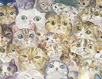 """""""เม้าแมว"""" - story and illustration ( Book )"""