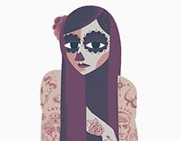 Día de los Muertos - Lady