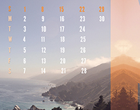 Reflected Landscape Calendar