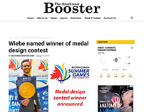 WCSG Medal Design Contest Winner story and articles.