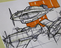 Automotive Sketching and Renderings