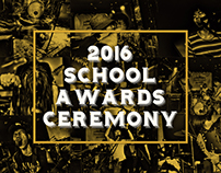 2016 SCHOOL AWARDS CEREMONY POSTER DESIGN
