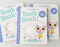 First Steps Baah Baah! - Hinkler Books