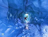 Viking at work on the glacier - Sólheimajökull