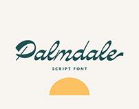 Palmdale Script font