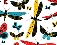 Magic Dancing Butterflies Pattern