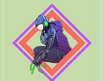 Character Design | AM-98 DESIGNERS |
