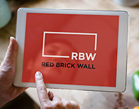 Logo Red Brick Wall
