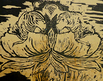 Untitled | Wood Intaglio/Relief Print