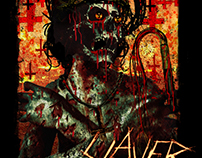Slayer - New York City Event Poster