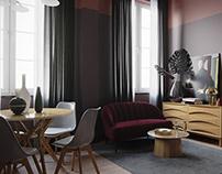 визуализация квартиры с интенсива ArtGluck
