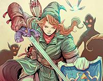 Link - The Legend of Zelda - Commission